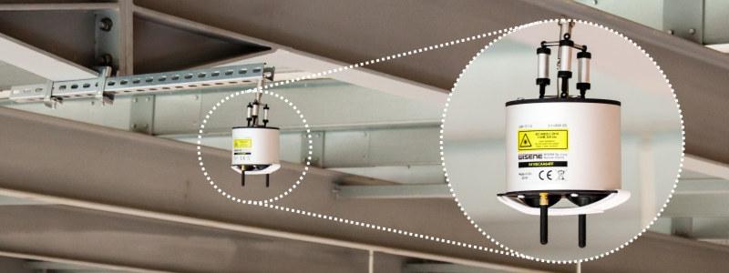 Laserowe Urządzenie Pomiarowe WISENE do pomiarów konstrukcji dachu